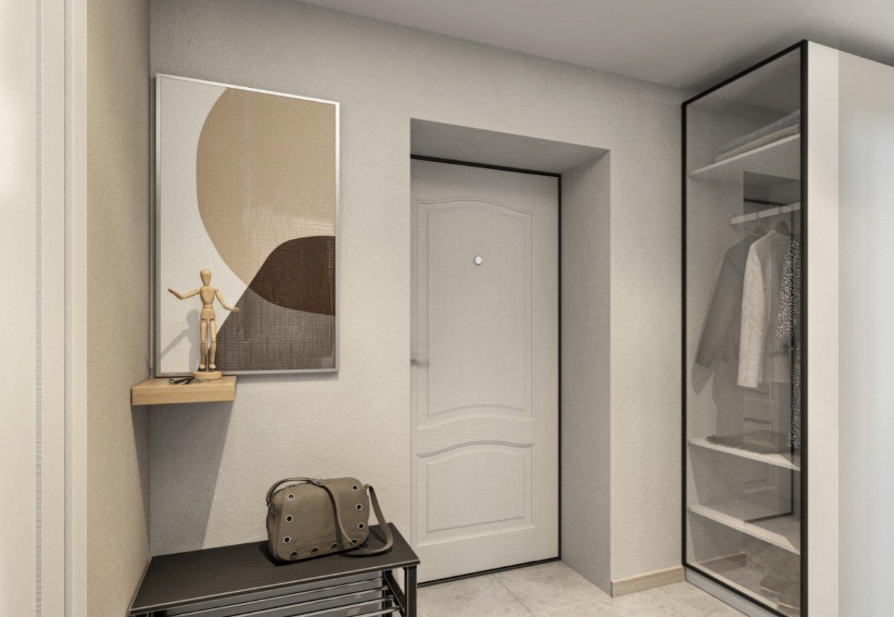 Фотография 10055  категории 'Трёхкомнатная квартира 78 м²'