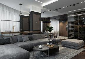 Фотография 10173  категории 'Четырёхкомнатная квартира в Н.Новгороде 166 м²'
