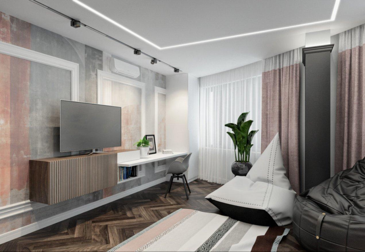 Фотография 10186  категории 'Четырёхкомнатная квартира в Н.Новгороде 166 м²'
