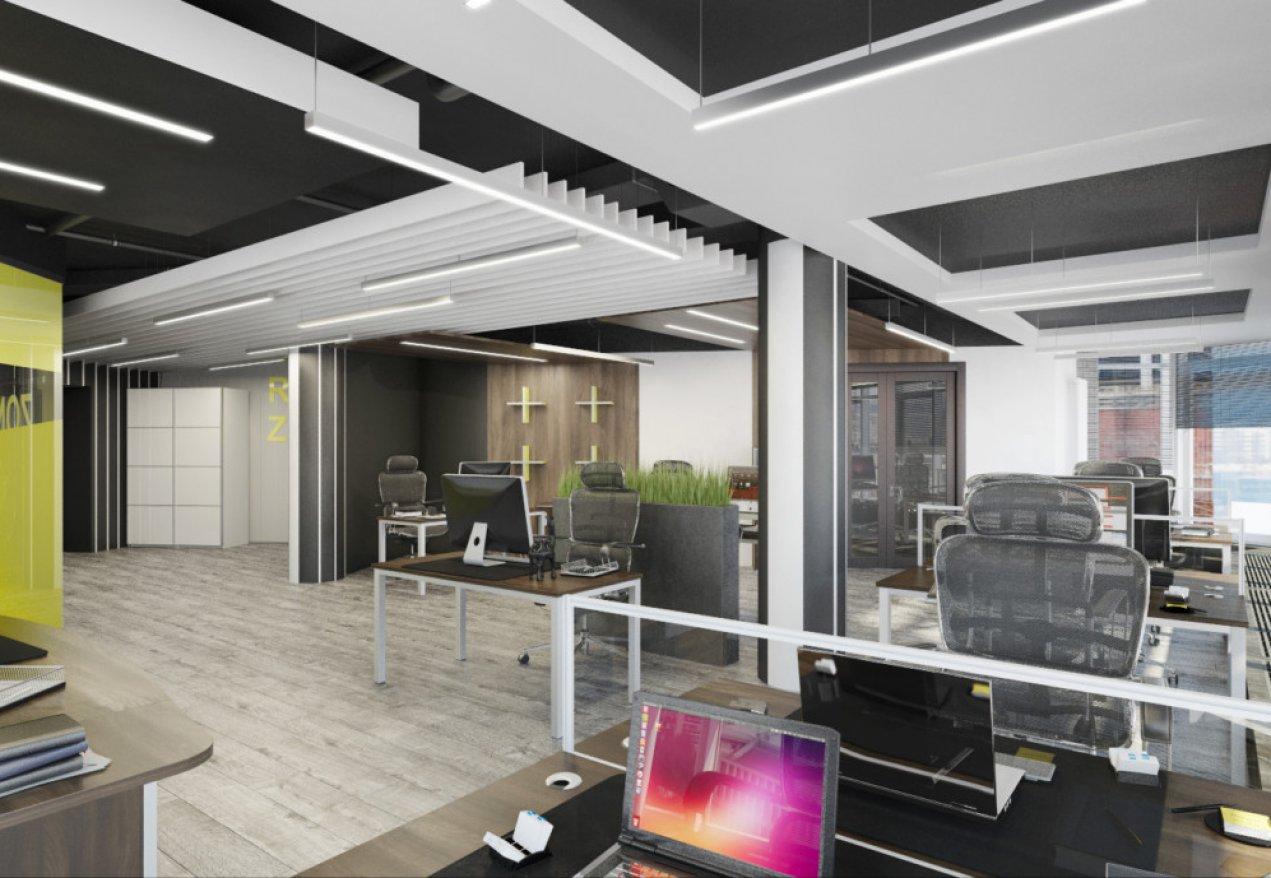 Фотография 9980  категории 'Офис для Интернет компании в Н.Новгороде 150 м²'