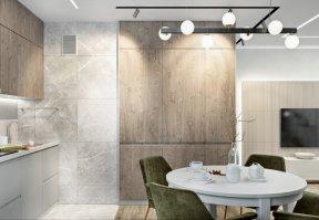 Фотография 10064  категории 'Трёхкомнатная квартира в Н. Новгороде 80 м²'