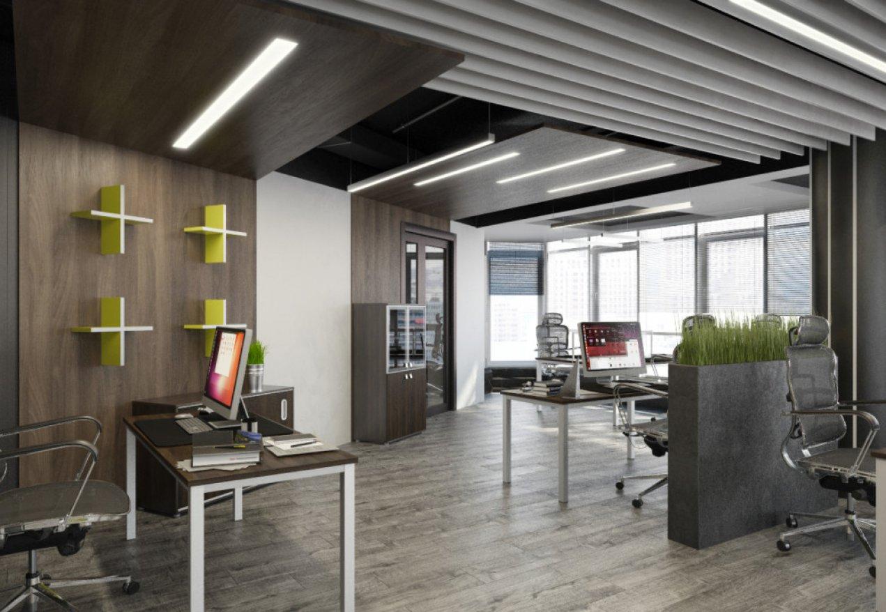 Фотография 9976  категории 'Офис для Интернет компании в Н.Новгороде 150 м²'