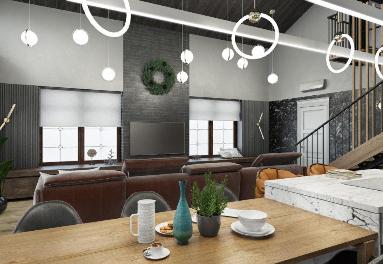 Фотография 10140  категории 'Двухэтажная баня в посёлке Бурцево 134 м²'