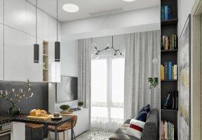 Фотография 9907  категории 'Однокомнатная квартира в Москве 42 м²'