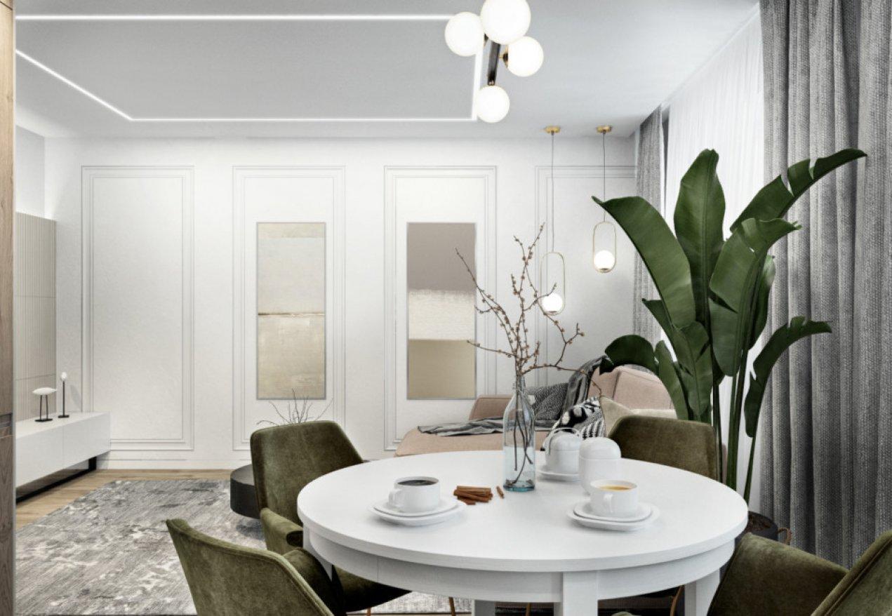 Фотография 10065  категории 'Трёхкомнатная квартира в Н. Новгороде 80 м²'