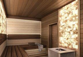 Фотография 10150  категории 'Двухэтажная баня в посёлке Бурцево 134 м²'