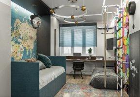 Фотография 10068  категории 'Трёхкомнатная квартира в Н. Новгороде 80 м²'
