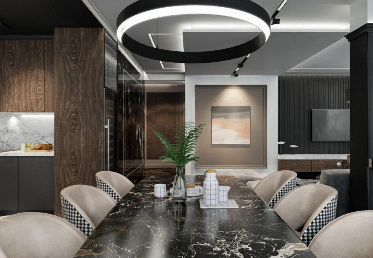 Фотография 10179  категории 'Четырёхкомнатная квартира в Н.Новгороде 166 м²'