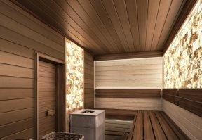 Фотография 10149  категории 'Двухэтажная баня в посёлке Бурцево 134 м²'