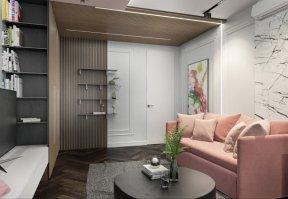 Фотография 10192  категории 'Четырёхкомнатная квартира в Н.Новгороде 166 м²'