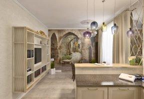 Фотография 3686  категории 'Частный дом 211 м²'