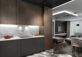 Фотография 10177  категории 'Четырёхкомнатная квартира в Н.Новгороде 166 м²'