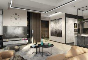Фотография 10104  категории 'Трёхкомнатная квартира в Н. Новгороде 130 м²'