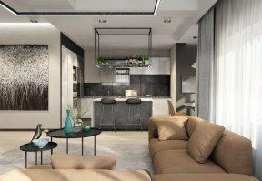 Фотография 10101  категории 'Трёхкомнатная квартира в Н. Новгороде 130 м²'