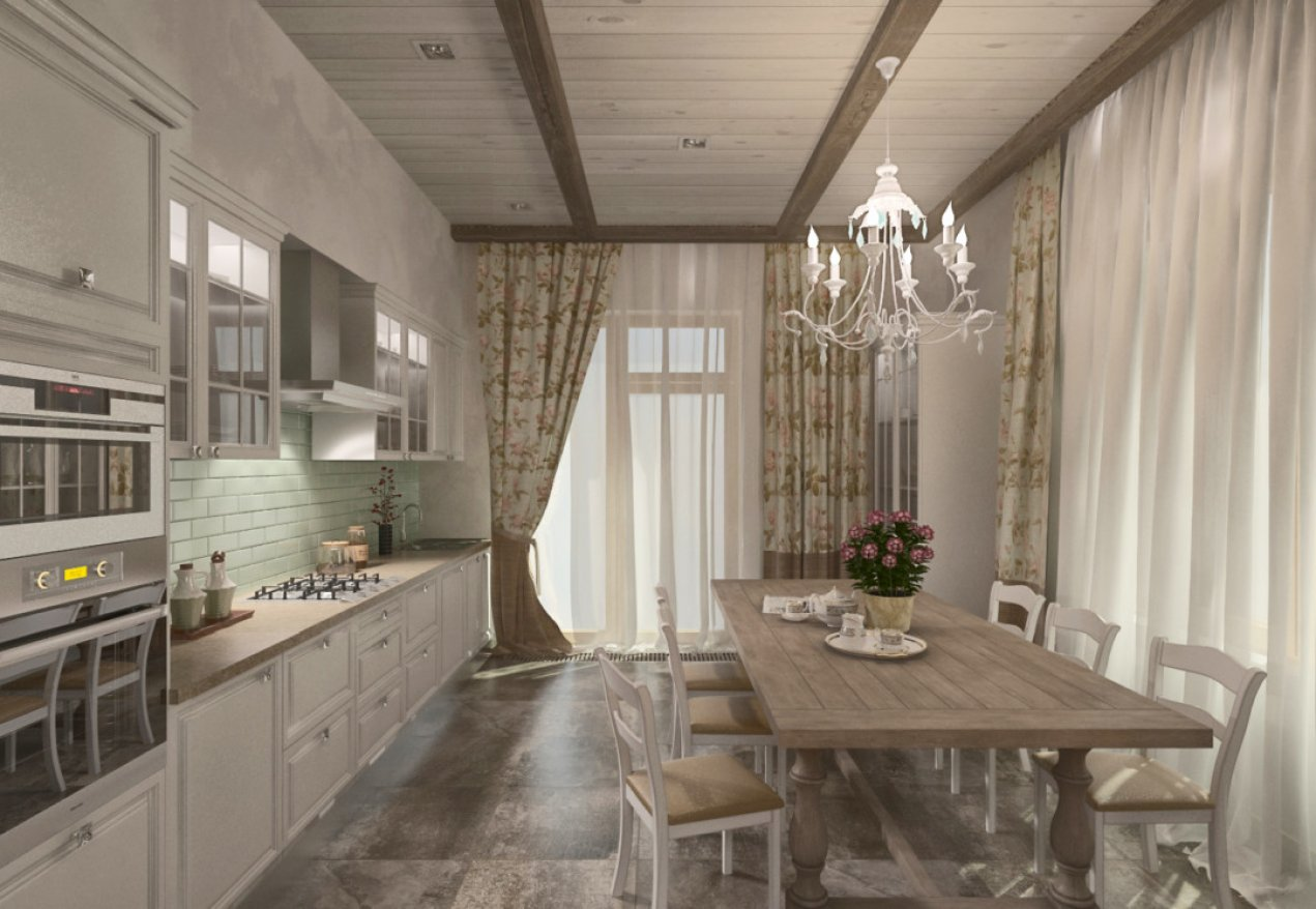 Фотография 3565  категории 'Загородный дом 213 м²'