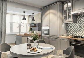 Фотография 10041  категории 'Трёхкомнатная квартира 78 м²'
