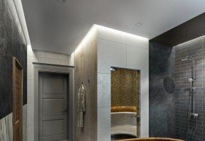 Фотография 10156  категории 'Двухэтажная баня в посёлке Бурцево 134 м²'