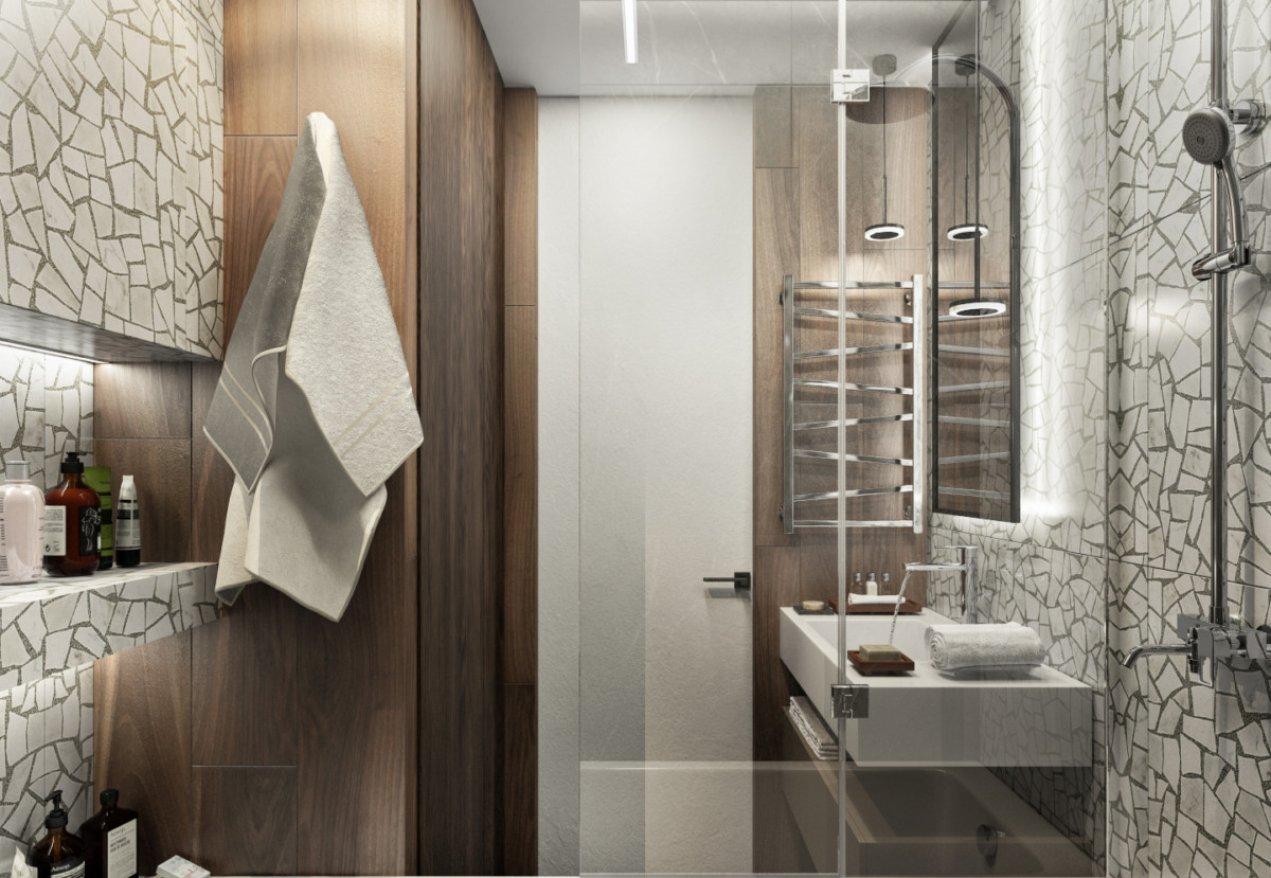 Фотография 10093  категории 'Трёхкомнатная квартира в Н. Новгороде 80 м²'