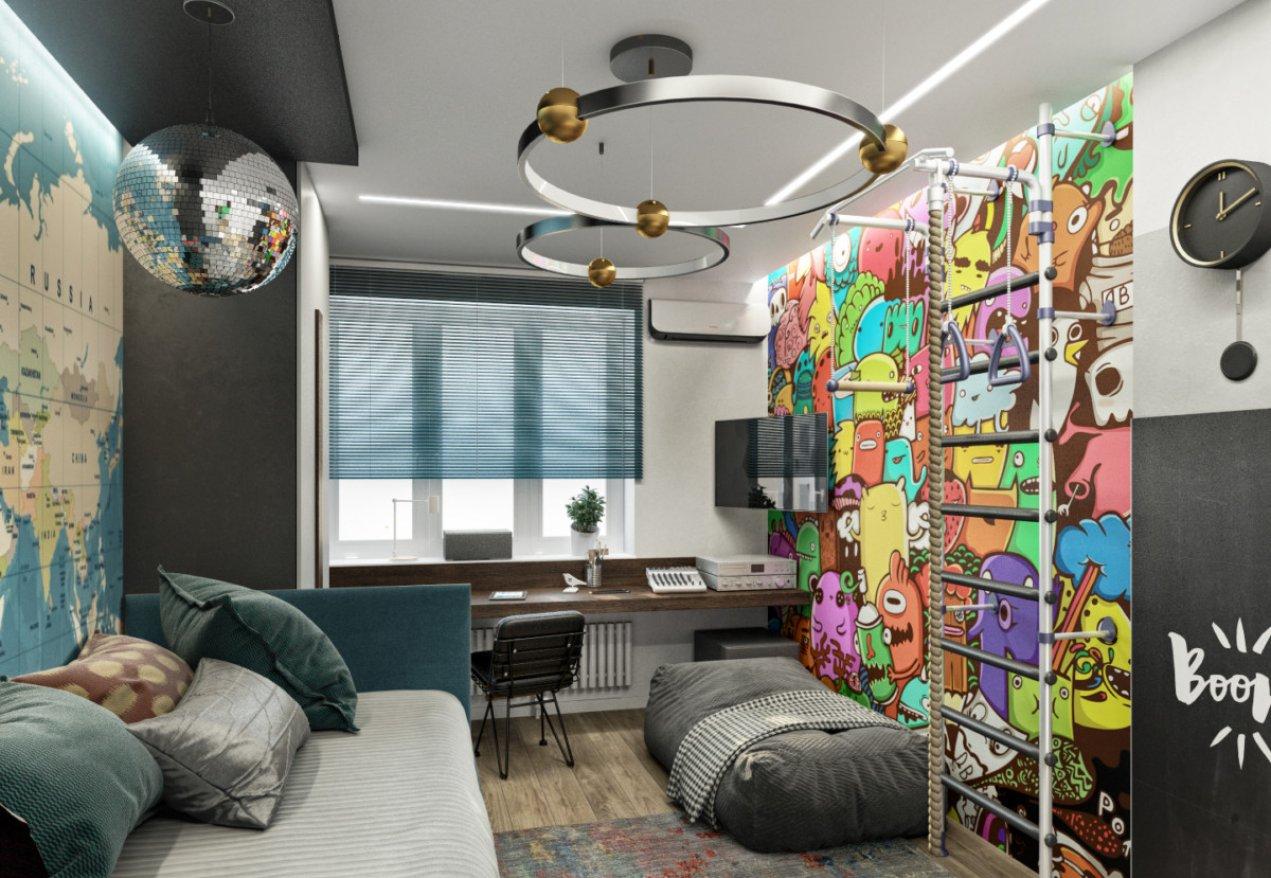 Фотография 10069  категории 'Трёхкомнатная квартира в Н. Новгороде 80 м²'