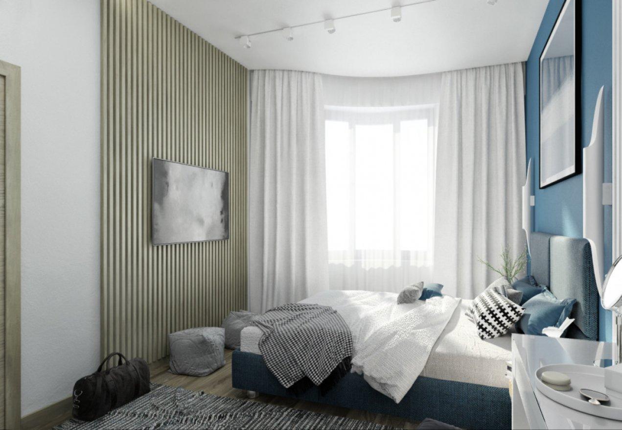 Фотография 9921  категории 'Однокомнатная квартира в Москве 42 м²'