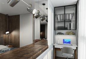 Фотография 10085  категории 'Трёхкомнатная квартира в Н. Новгороде 80 м²'