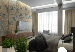 Фотография 10117  категории 'Трёхкомнатная квартира в Н. Новгороде 130 м²'