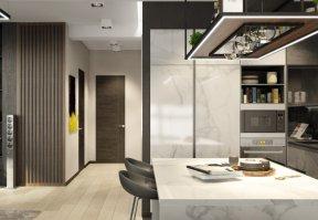 Фотография 10105  категории 'Трёхкомнатная квартира в Н. Новгороде 130 м²'