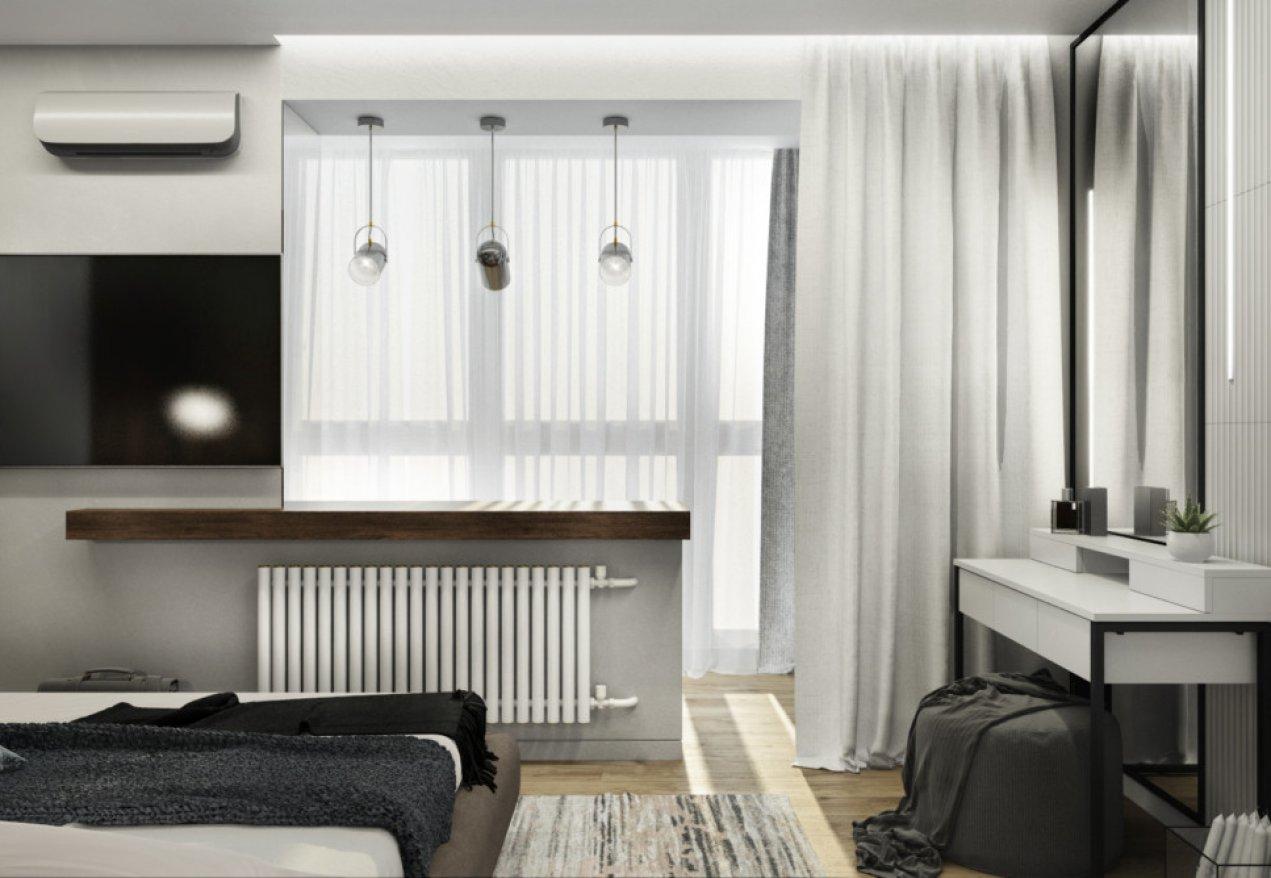 Фотография 10087  категории 'Трёхкомнатная квартира в Н. Новгороде 80 м²'