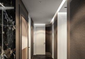 Фотография 10194  категории 'Четырёхкомнатная квартира в Н.Новгороде 166 м²'