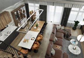 Фотография 10143  категории 'Двухэтажная баня в посёлке Бурцево 134 м²'