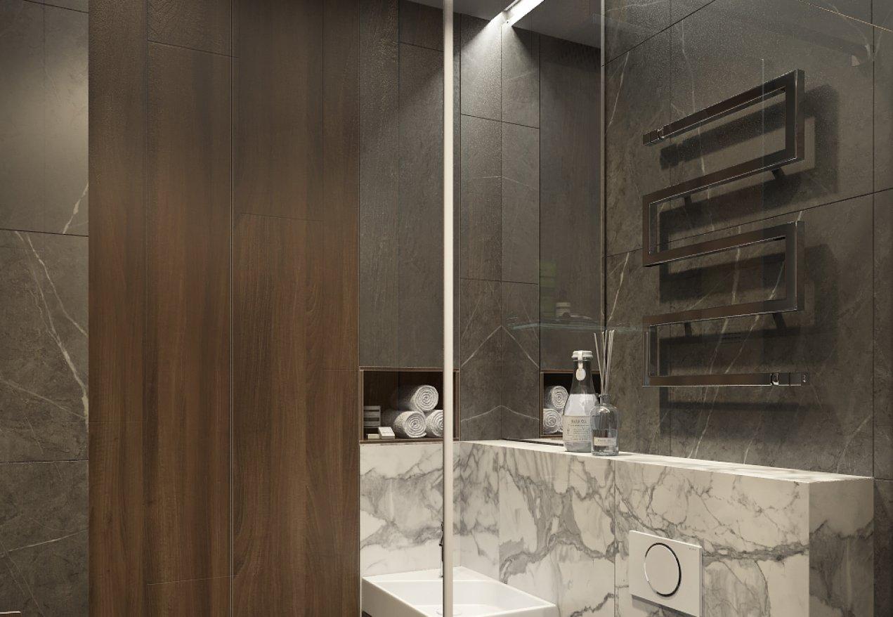 Фотография 10130  категории 'Трёхкомнатная квартира в Н. Новгороде 130 м²'