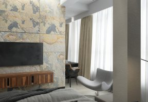 Фотография 10120  категории 'Трёхкомнатная квартира в Н. Новгороде 130 м²'