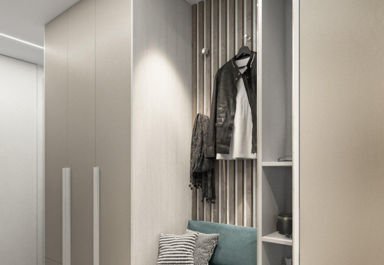 Фотография 10074  категории 'Трёхкомнатная квартира в Н. Новгороде 80 м²'