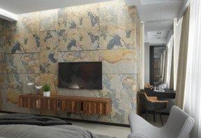 Фотография 10121  категории 'Трёхкомнатная квартира в Н. Новгороде 130 м²'