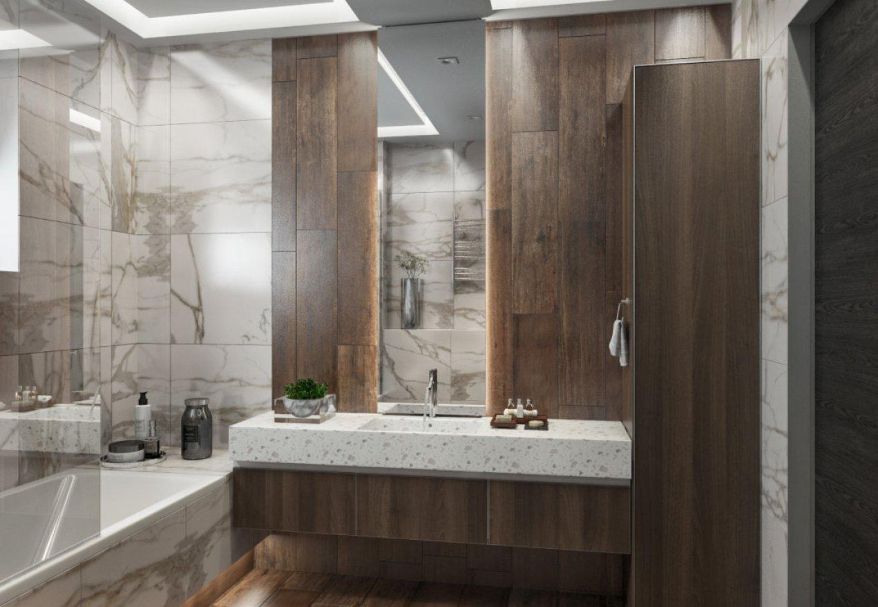 Фотография 10127  категории 'Трёхкомнатная квартира в Н. Новгороде 130 м²'
