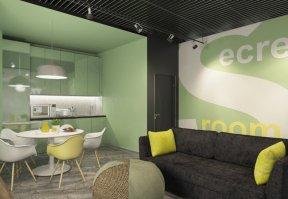Фотография 9985  категории 'Офис для Интернет компании в Н.Новгороде 150 м²'