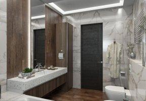 Фотография 10126  категории 'Трёхкомнатная квартира в Н. Новгороде 130 м²'